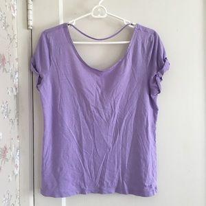 Victoria's Secret lilac purple shirt